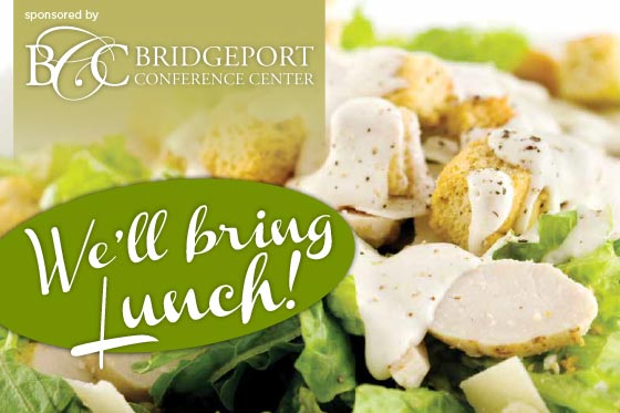 Bridgeport Conference Center offers a wide assortment of delicious menus and service styles for both on-premise and off-premise events.