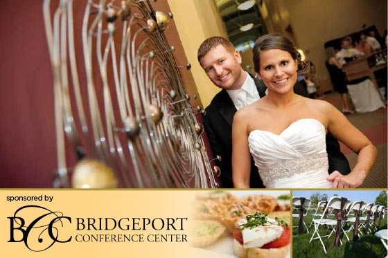 Whether you are looking for an intimate space for a group dinner or a full-service ballroom for your wedding reception or banquet, Bridgeport Conference Center is ideal for you!